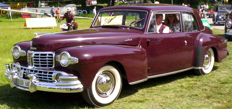 File Lincoln Continental Coupe 1948 Jpg Wikimedia Commons