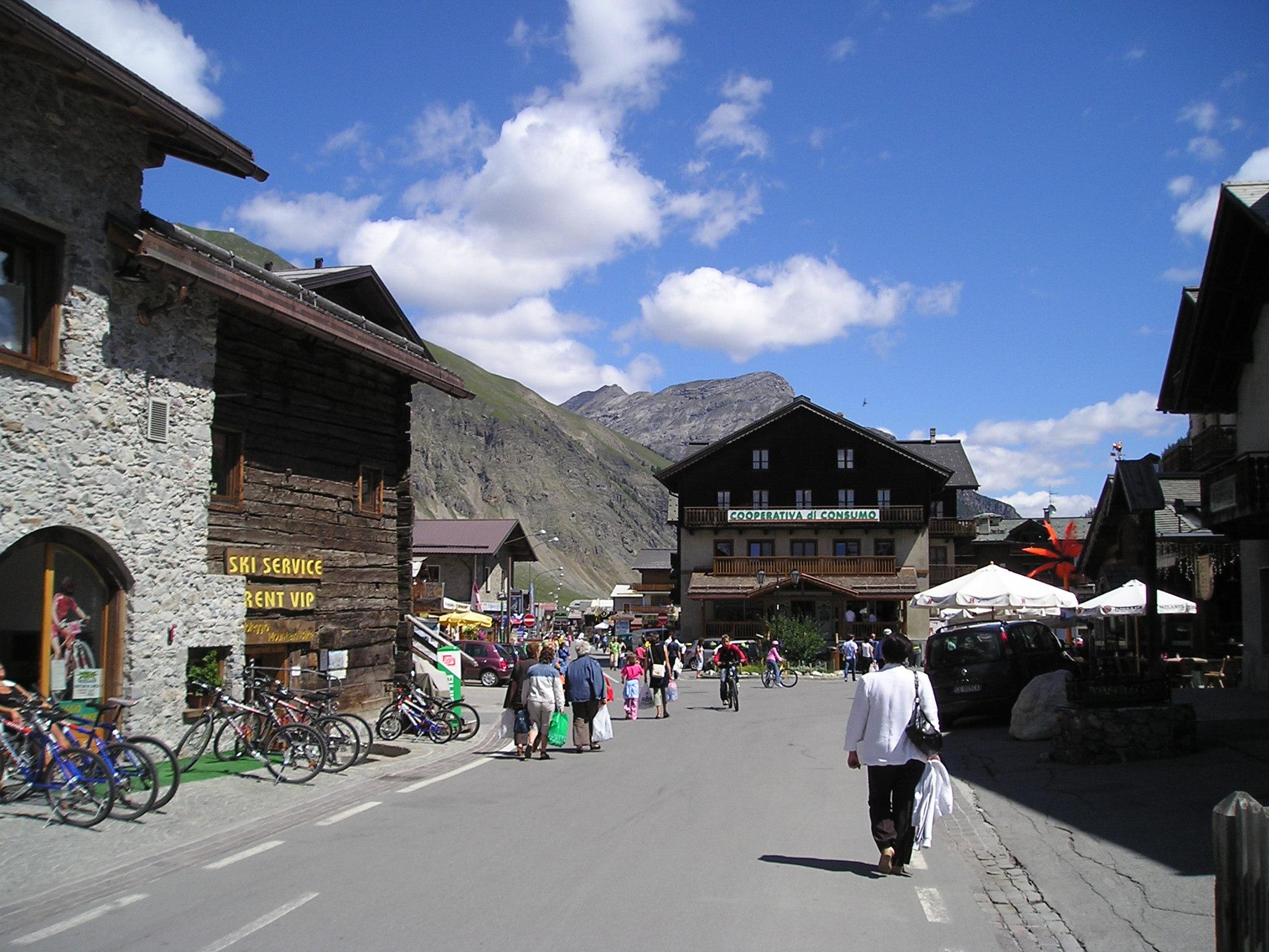 Livigno - Wikivoyage, guida turistica di viaggio