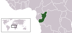 Location of Republik Kongo