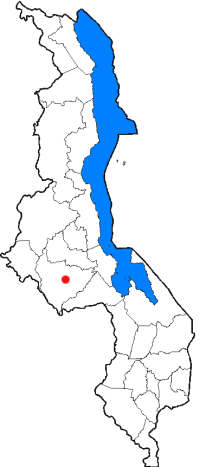 The districts of Malawi, with the capital Lilo...