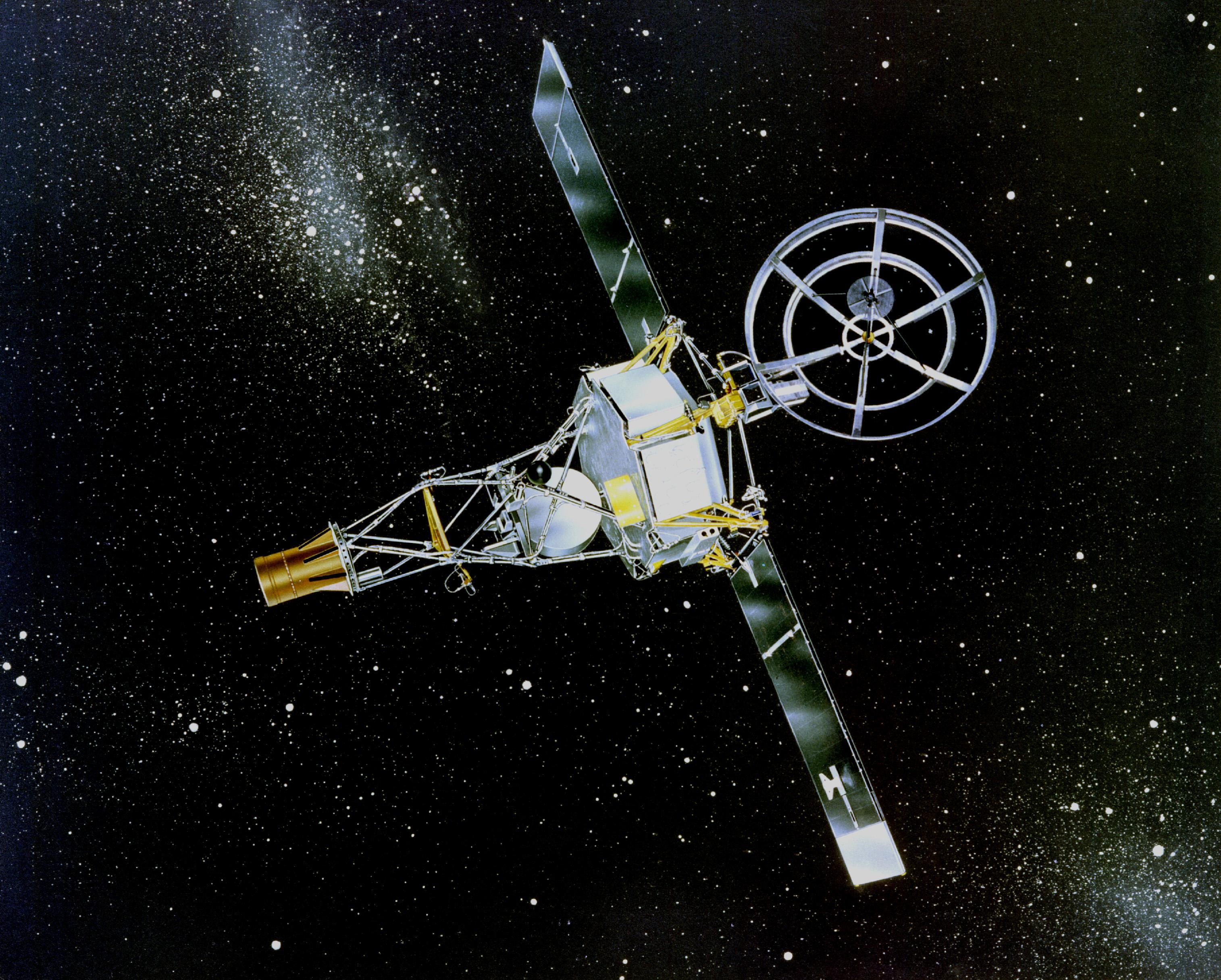Резултат с изображение за космическия апарат Маринър 2.