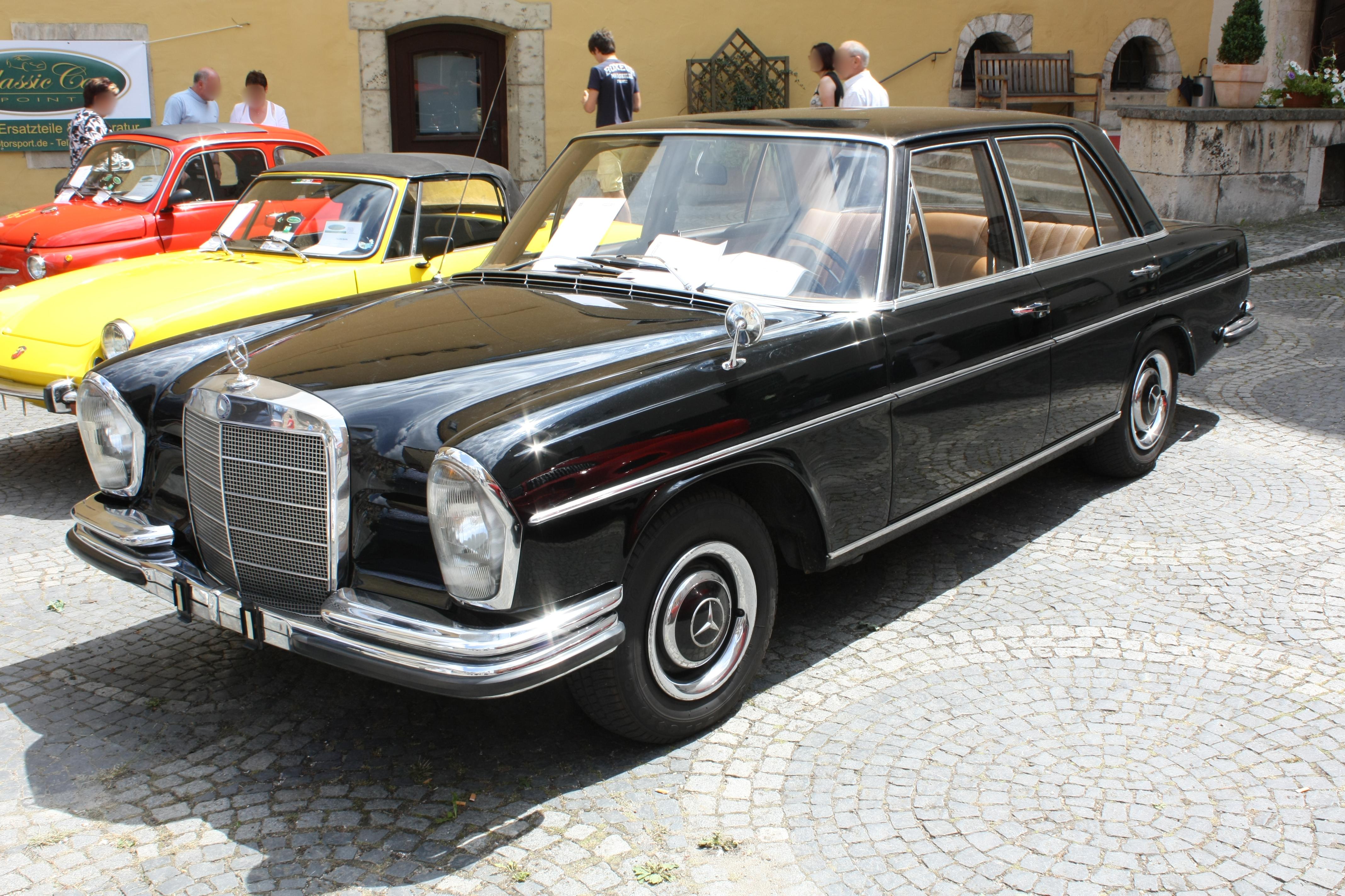 File Mercedes Benz W108 250se Automatic Front Jpg