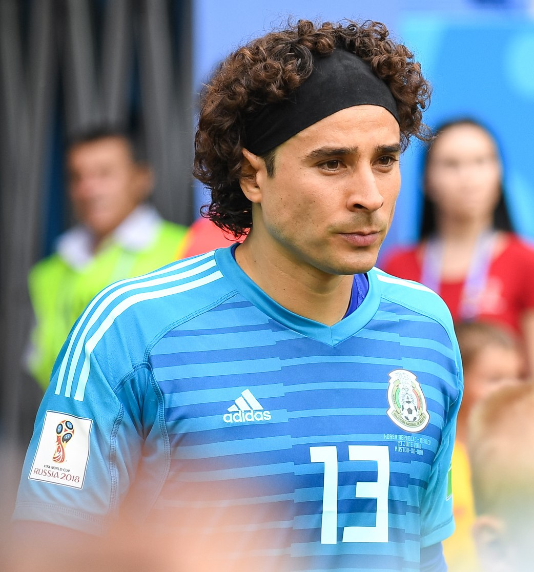 The 33-year old son of father Balentin Ochoa and mother Natividad Saldivar Guillermo Ochoa in 2018 photo. Guillermo Ochoa earned a  million dollar salary - leaving the net worth at 2 million in 2018