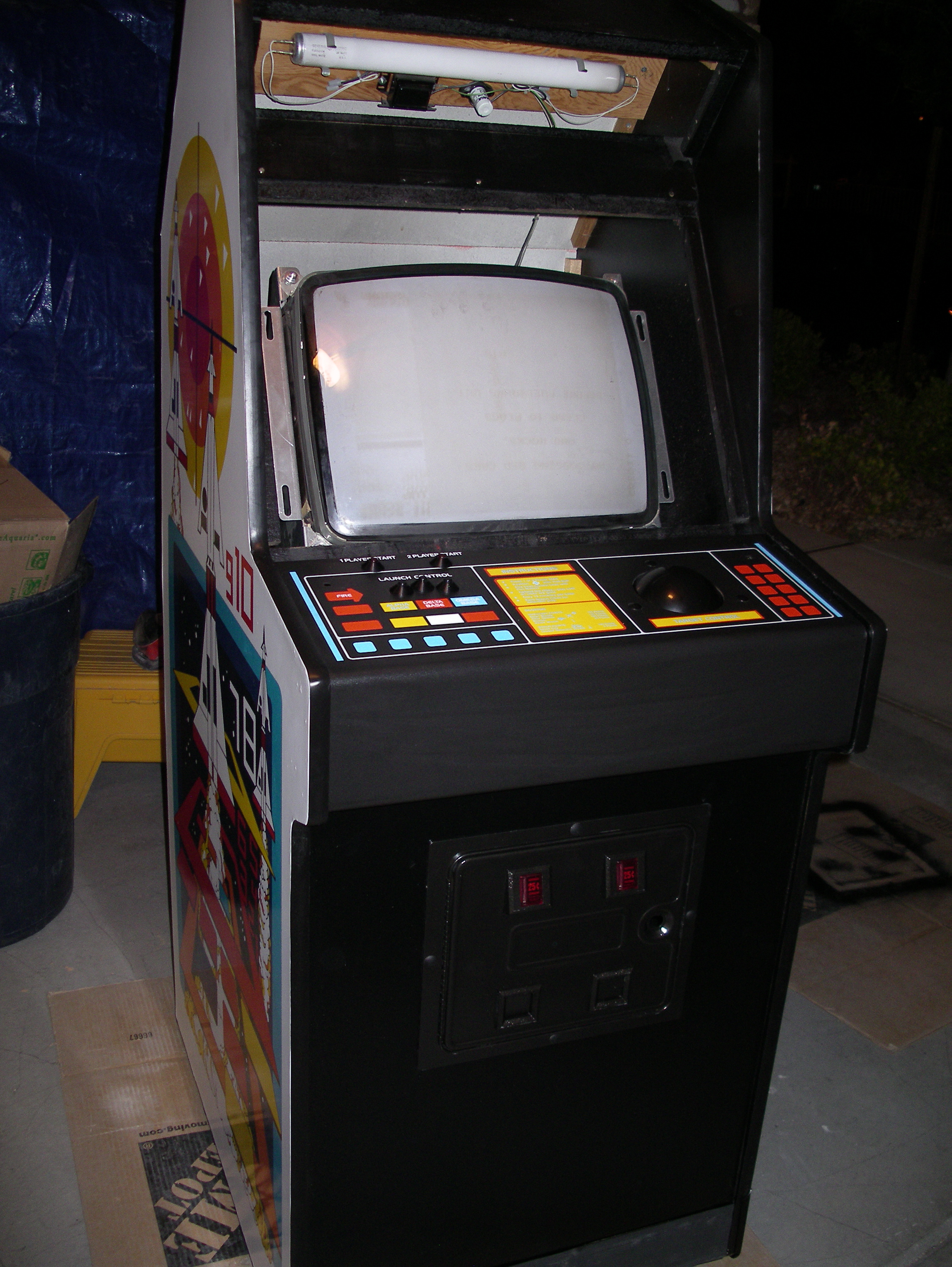 Arcade Cabinet Dimensions Filemissile Command Arcade Cabinetjpg Wikimedia Commons