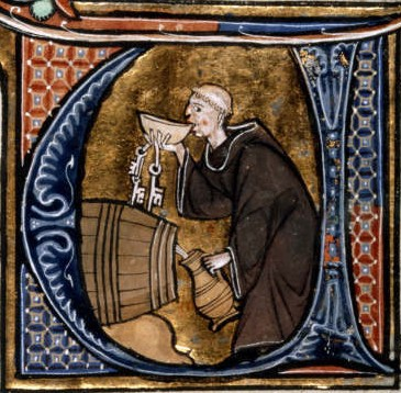 File:Monk tasting wine from a barrel.jpg