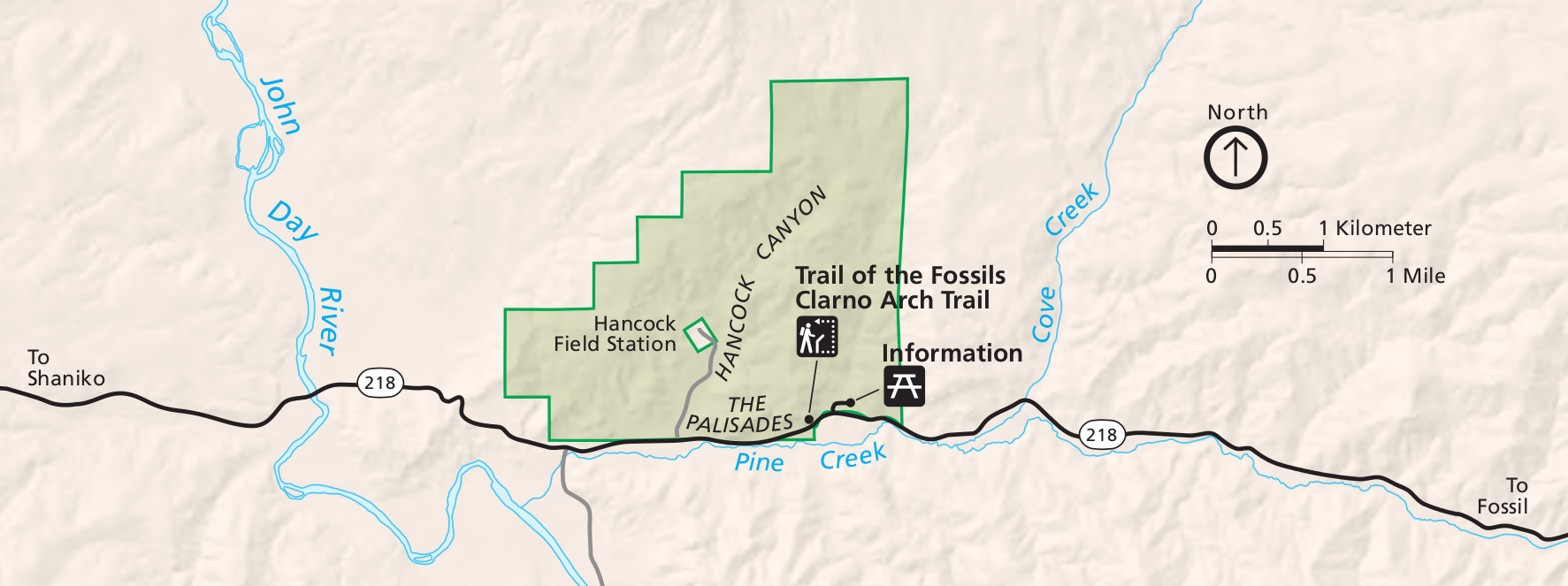file:nps john-day-fossil-beds-clarno-map - wikimedia commons