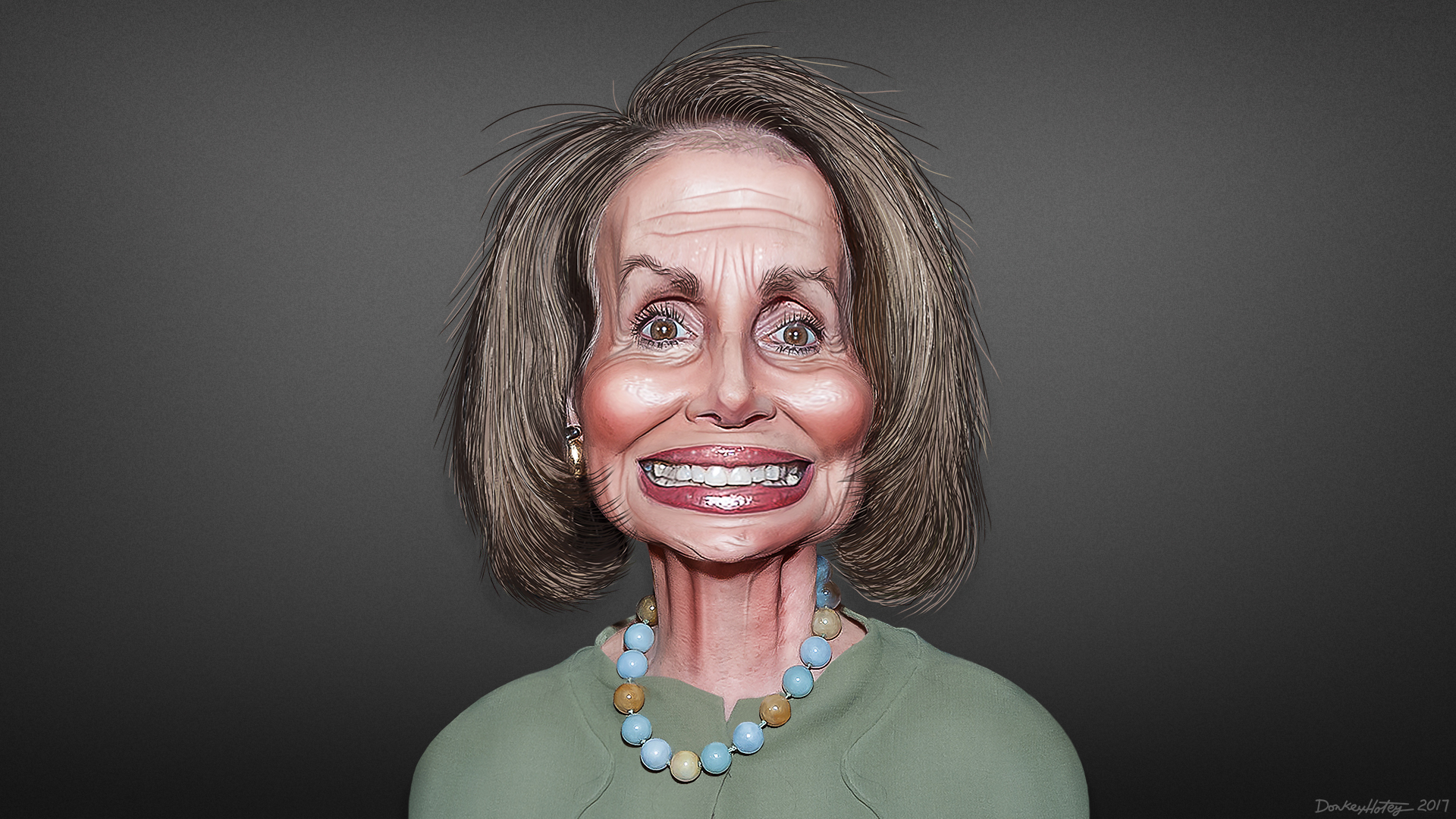 Image result for pelosi caricature