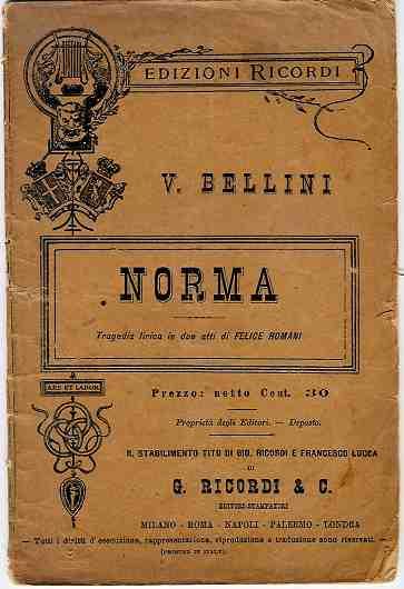 Bellini Norma