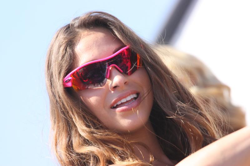Oakley sunglasses in hot pink
