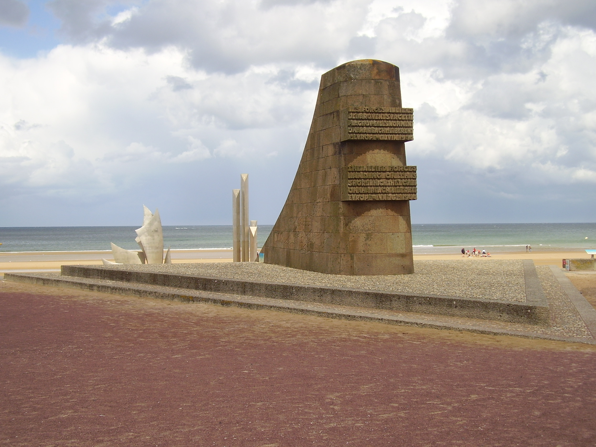 d-day normandy beaches