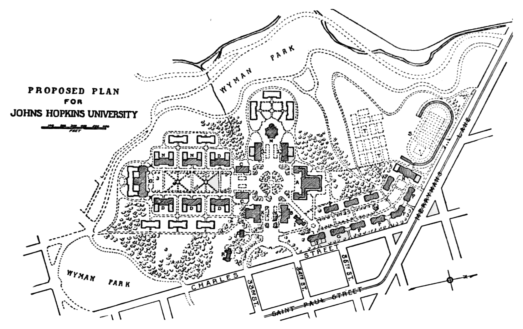PSM V74 D107 Proposed plan for johns hopkins university.png