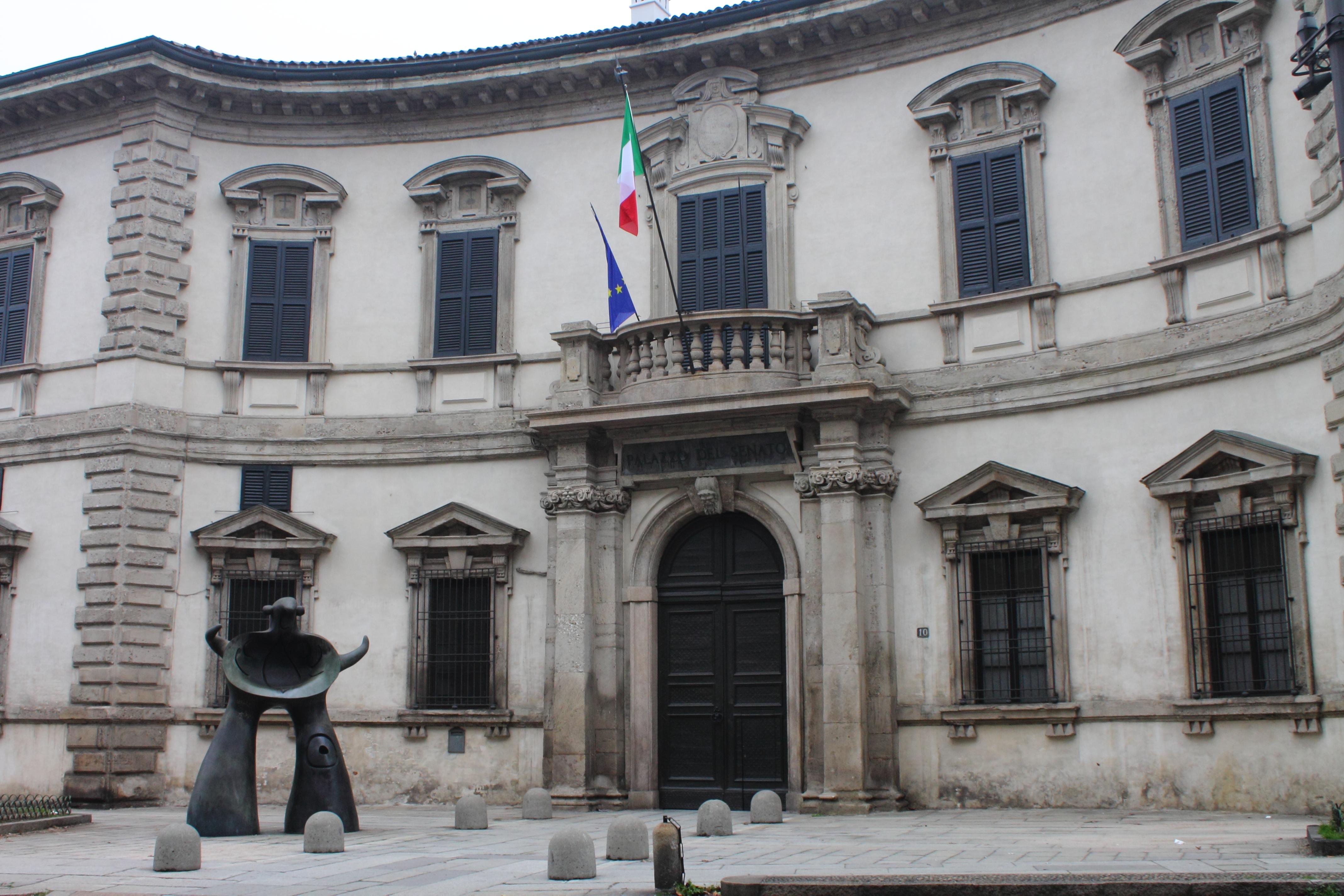 Filepalazzo Del Senato 1608 Facciata Di Fmricchino Milano