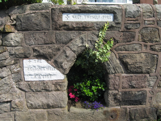 Parson's Well, Mow Cop - geograph.org.uk - 1016502