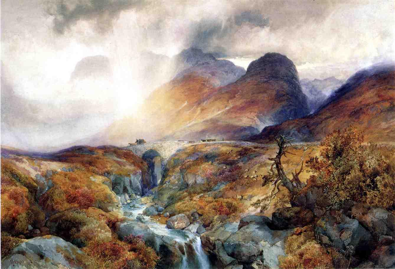File:Pass at Glencoe Scotland Thomas Moran 1882 jpeg