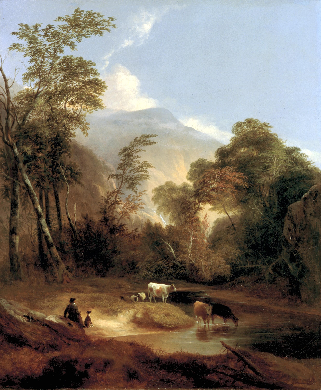 Pastoral Landscape by Alvan Fisher, 1854.jpg