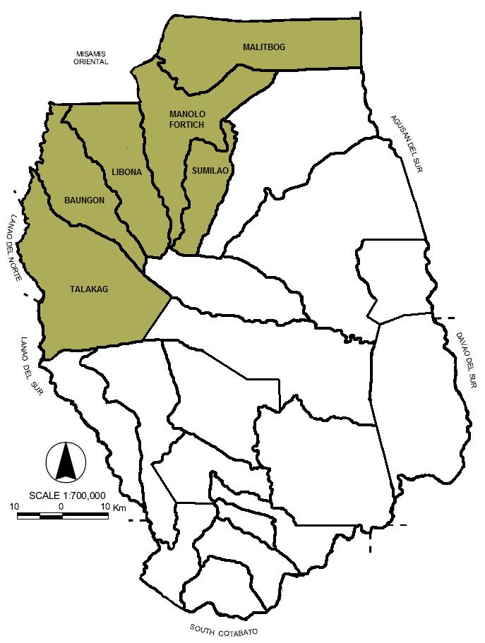 Bukidnon Philippines Map