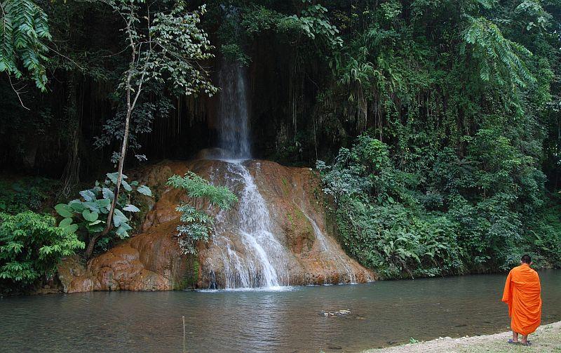 Ban Sang Thailand  city pictures gallery : Phayao phu sang waterfall Ban Sang, Thailand