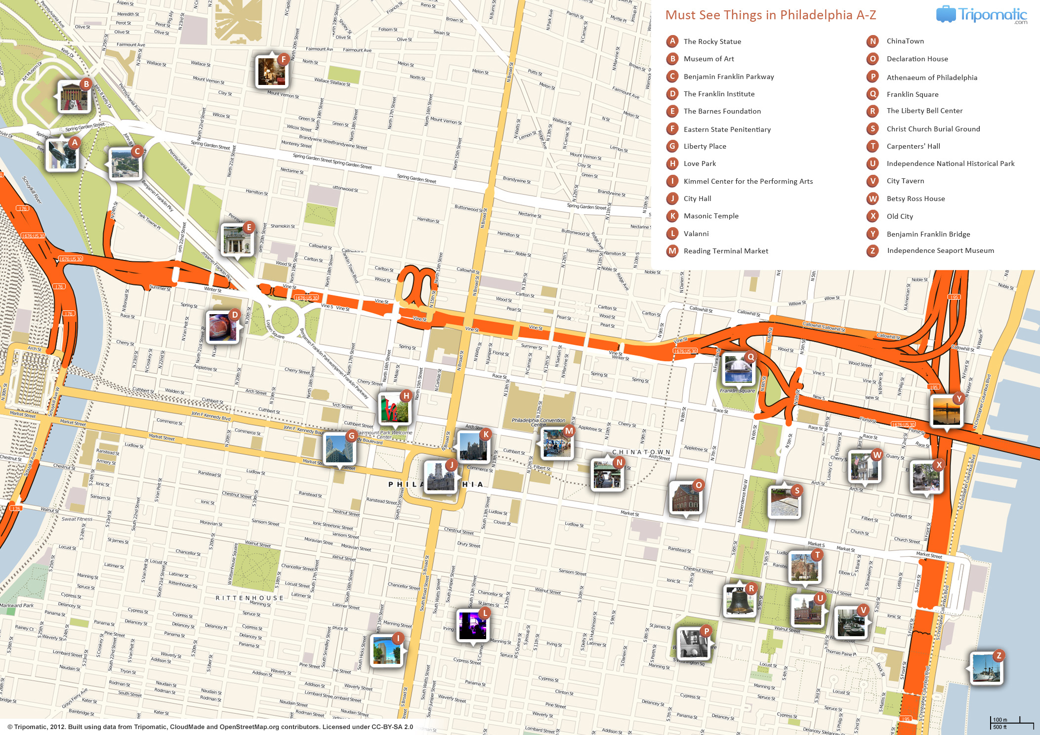 FilePhiladelphia printable tourist attractions mapjpg – Tourist Attractions Map In Pa