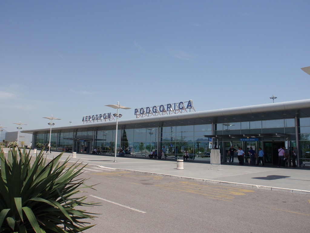Image result for airport podgorica