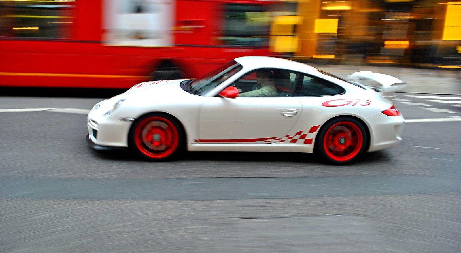Porsche File Porsche 997 Gt3 3point8 With Rs Decals In London