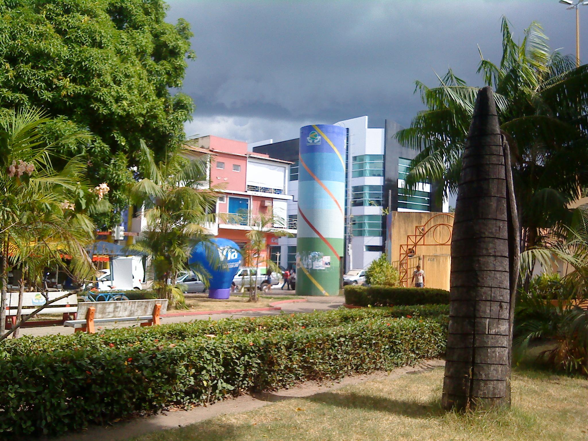 Praça Duque de Caxias, em 2010, no bairro Centro, Velha Marabá. c5599f92d1