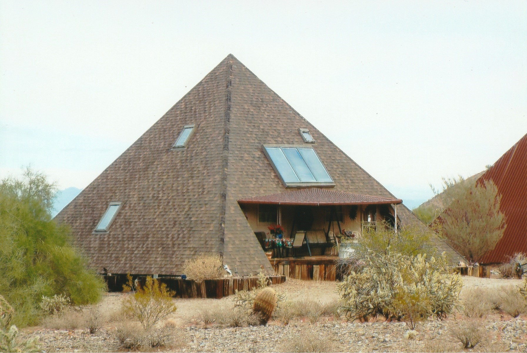 Image result for pyramid roof