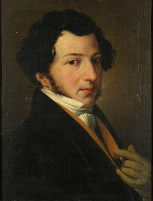 Rossini as a young man, circa 1810–1815