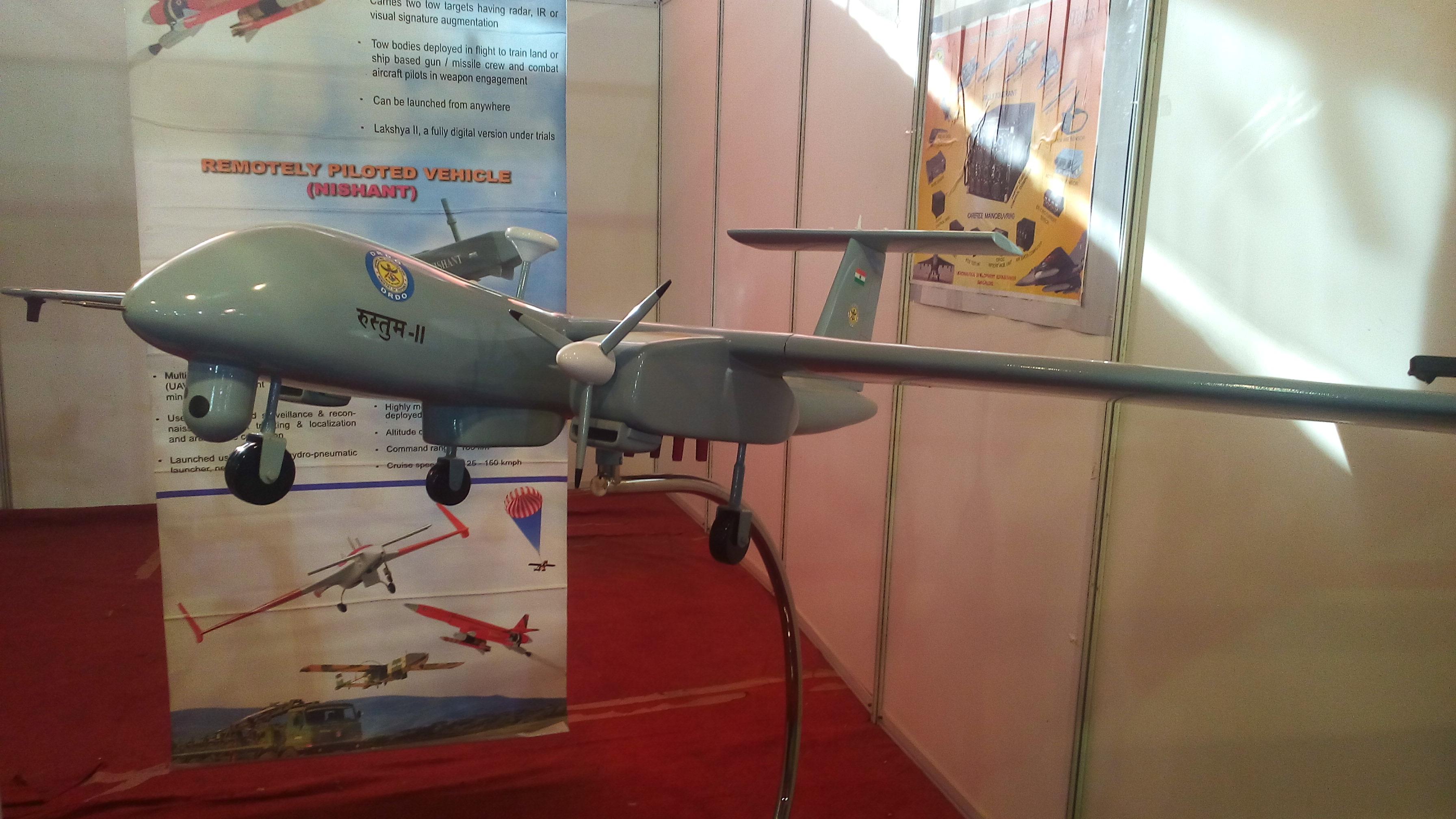 Archivo: Rustom-2 Model.jpg - Wikimedia Commons