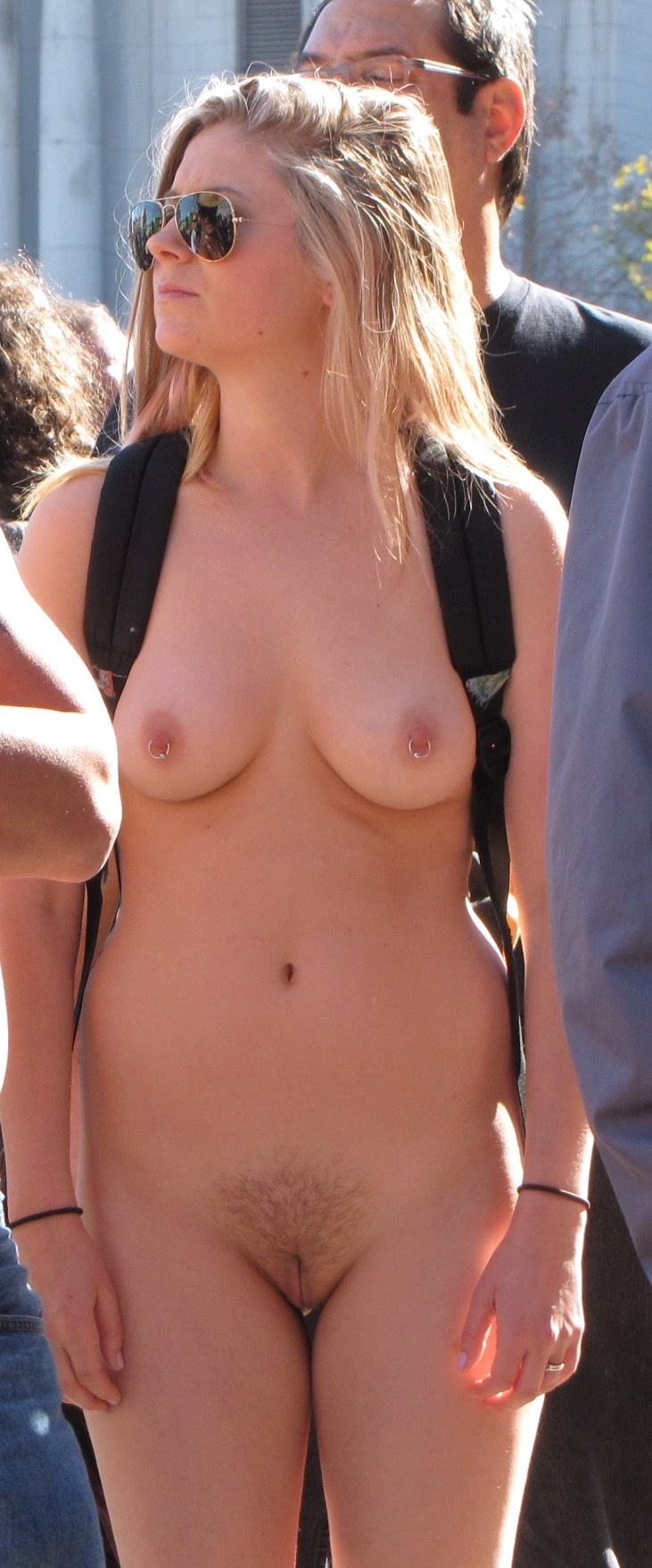 German handjob outside