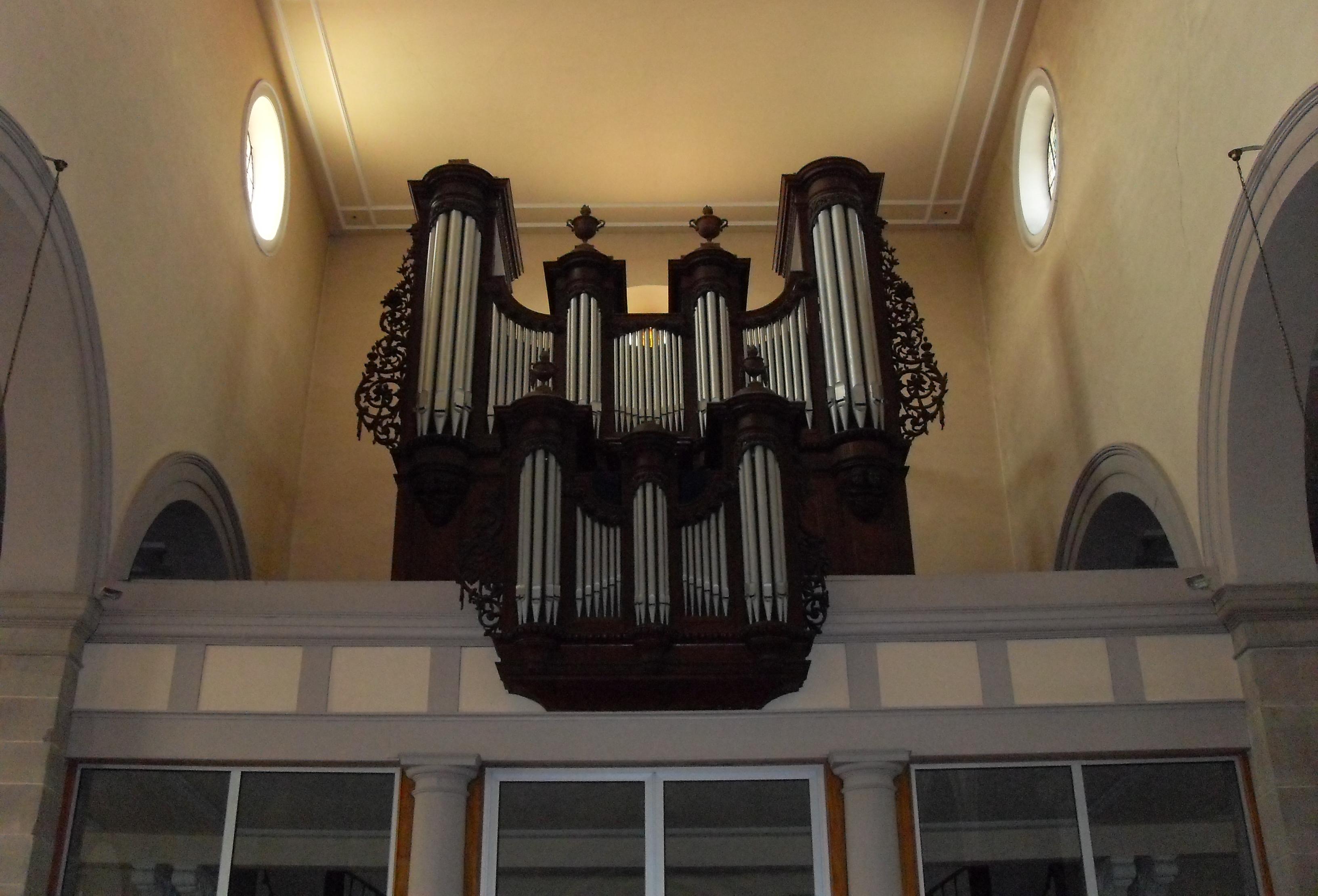 file sainte croix en plaine l 39 orgue de l 39 glise saint barth wikimedia commons. Black Bedroom Furniture Sets. Home Design Ideas