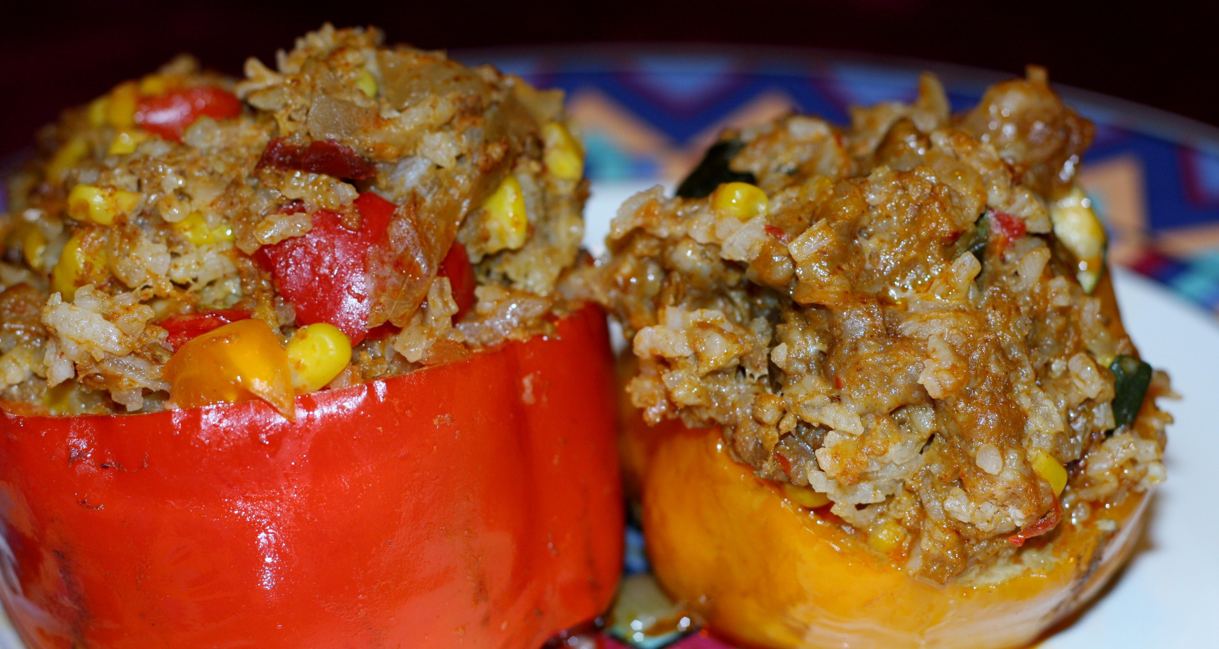 Тушеные перцы с фаршем рецепт в