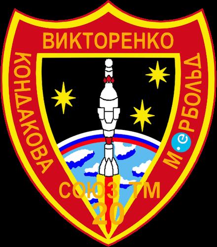 Soyuz TM-20 patch.png