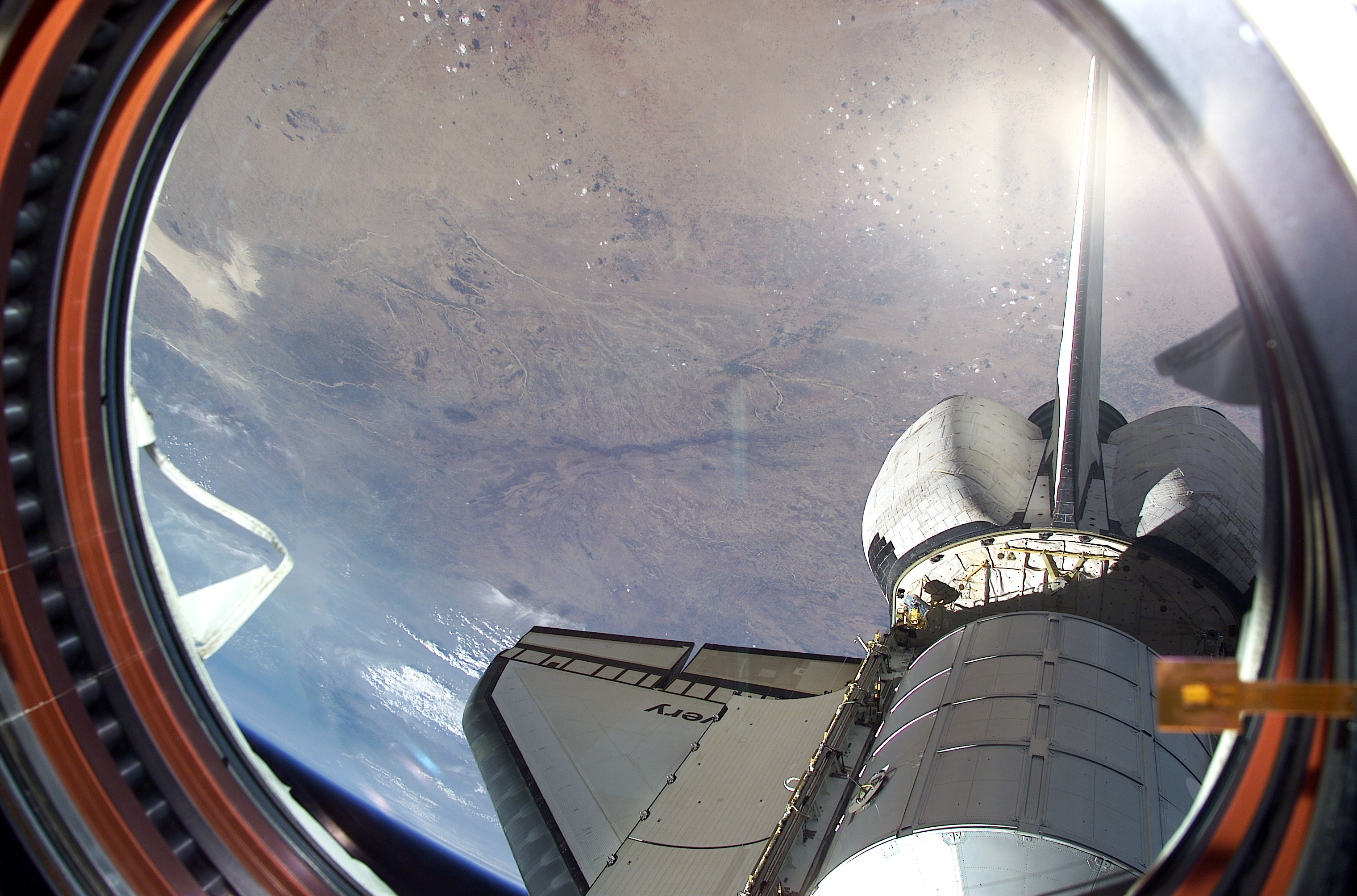 space shuttle window - photo #8