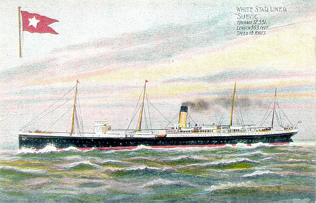 RMS Suevic