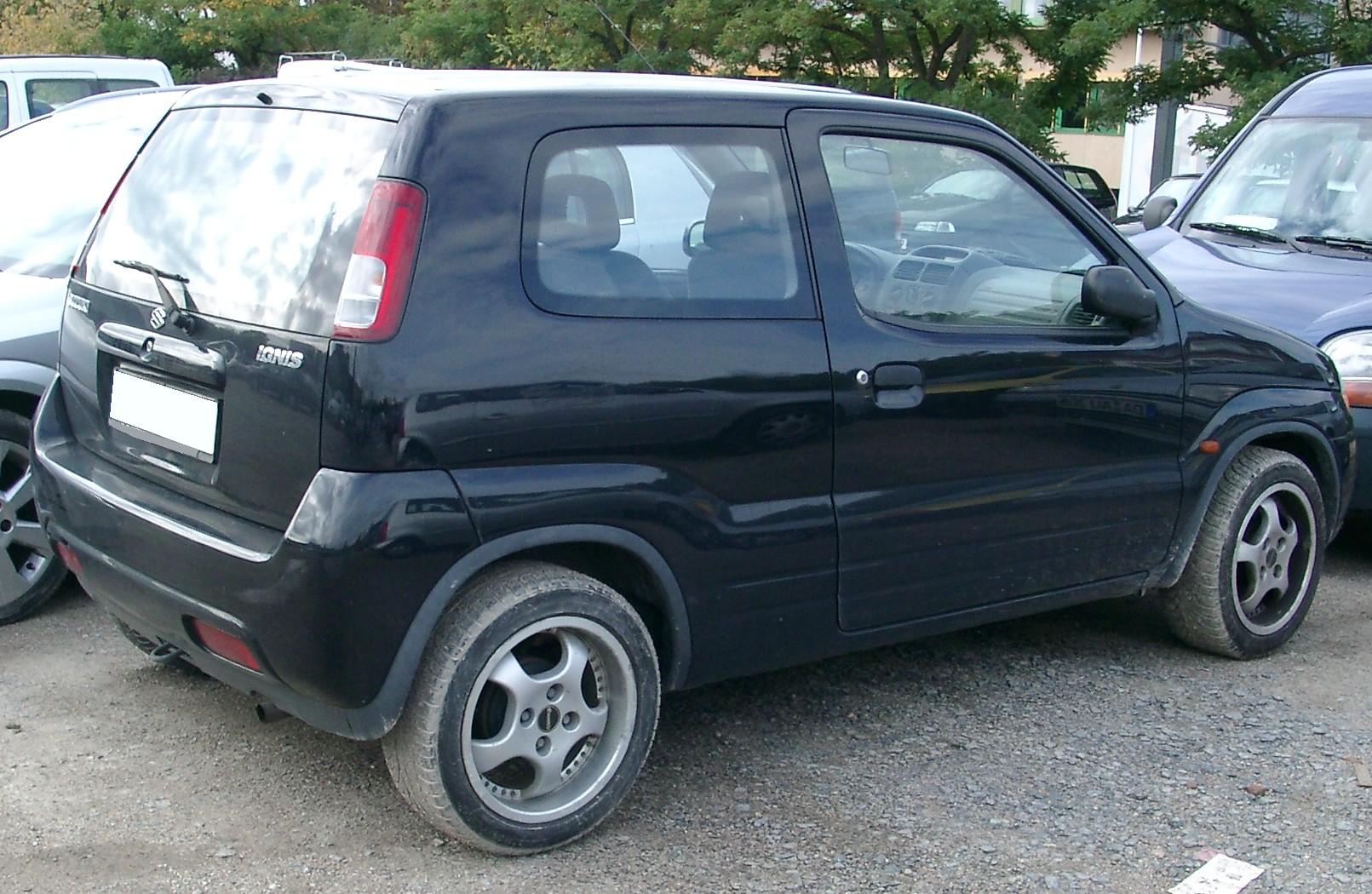 Suzuki Ignis Rear 20070926