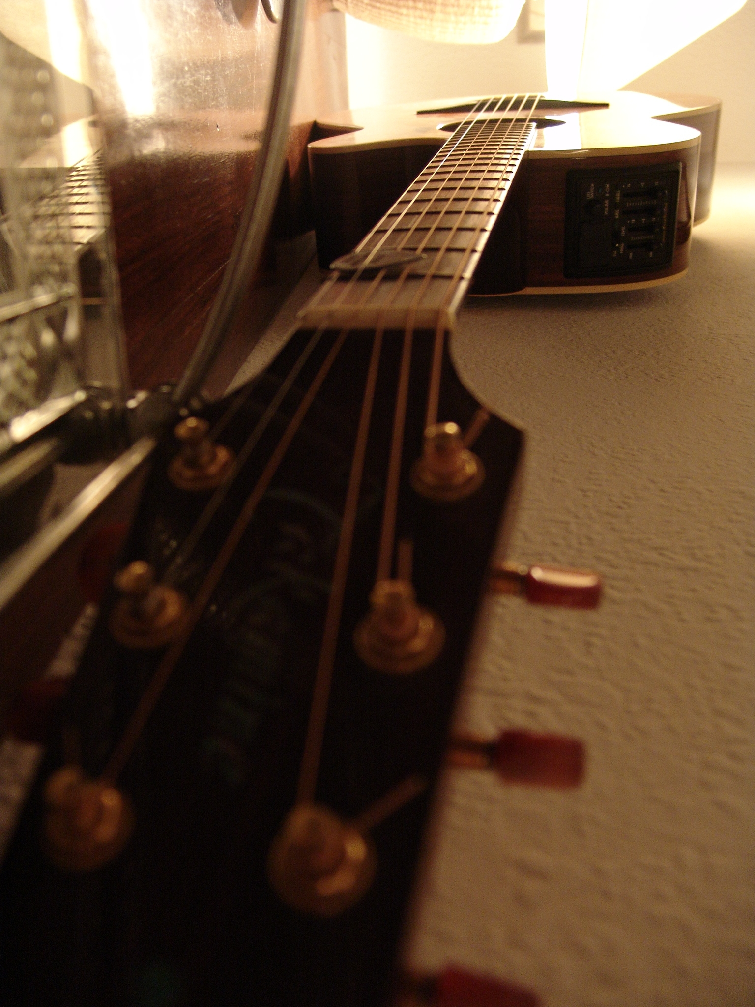 Noise has as much variety as the sounds made by this electro-acoustic guitar