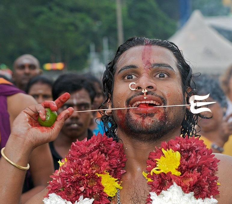 the traditions practices and the processes in the thaipusam festival A tapestry of colours observe thaipusam and not every chinese celebrates the nine emperor gods festival beliefs and cultural practices.