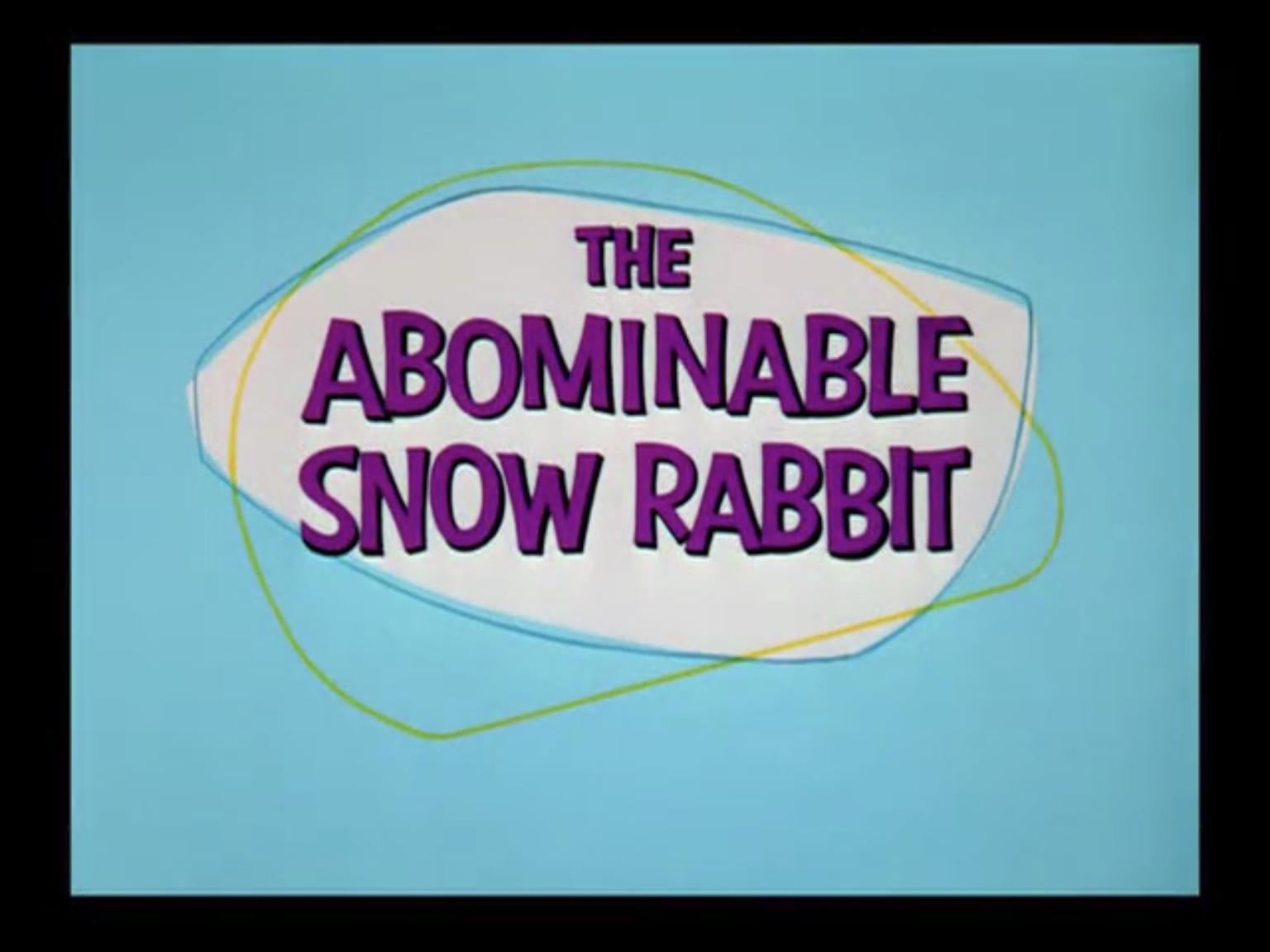 The Abominable Snow Rabbit Wikipedia