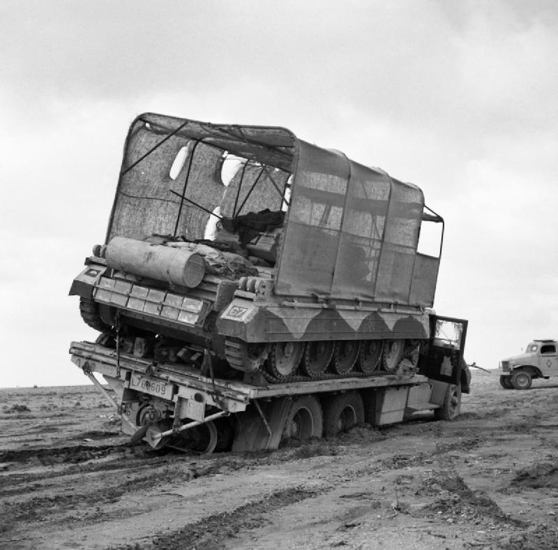 Crusaders Camouflaged as Lorries
