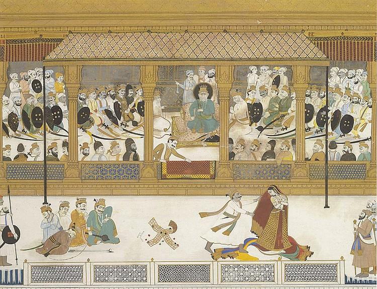 File:The Humiliation of Draupadi.jpg