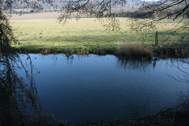The River Darent north of Shoreham - geograph.org.uk - 1732095