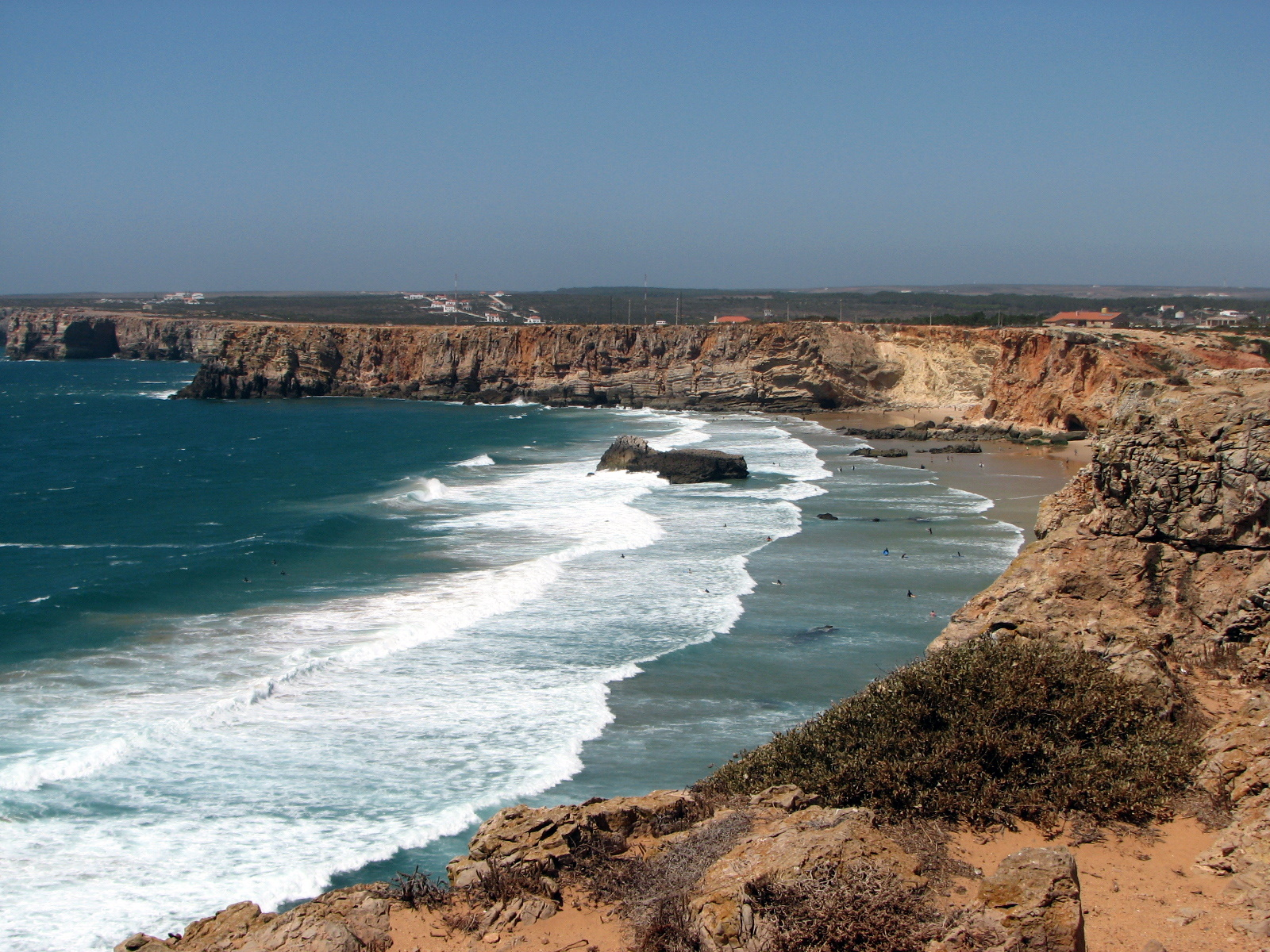 Sagres Portugal  City pictures : ... The end of the world Sagres The Algarve, Portugal 1387625917