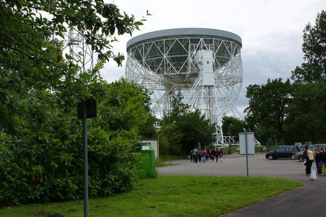 The big dish at Jodrell Bank - geograph.org.uk - 1360248
