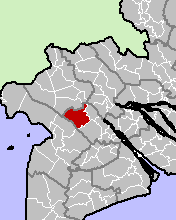 Location in Cần Thơ province.