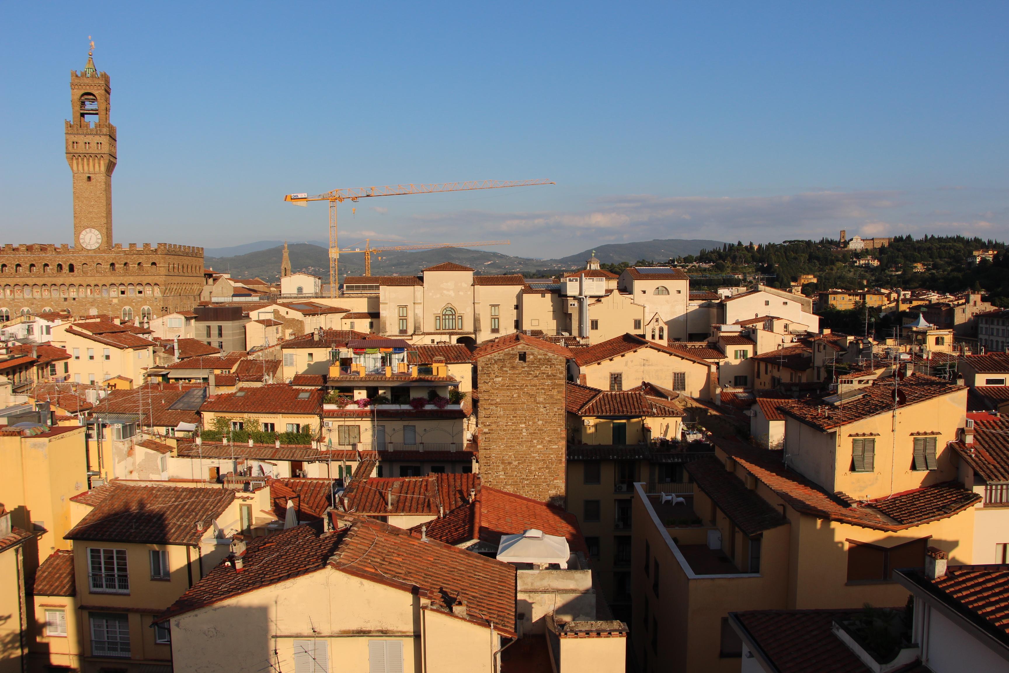 File Torre Guelfa Terrazza Veduta Uffizi 01 Jpg