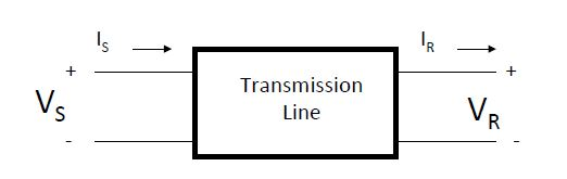 """Black box"" model for transmission line Transmission Line Black Box.JPG"
