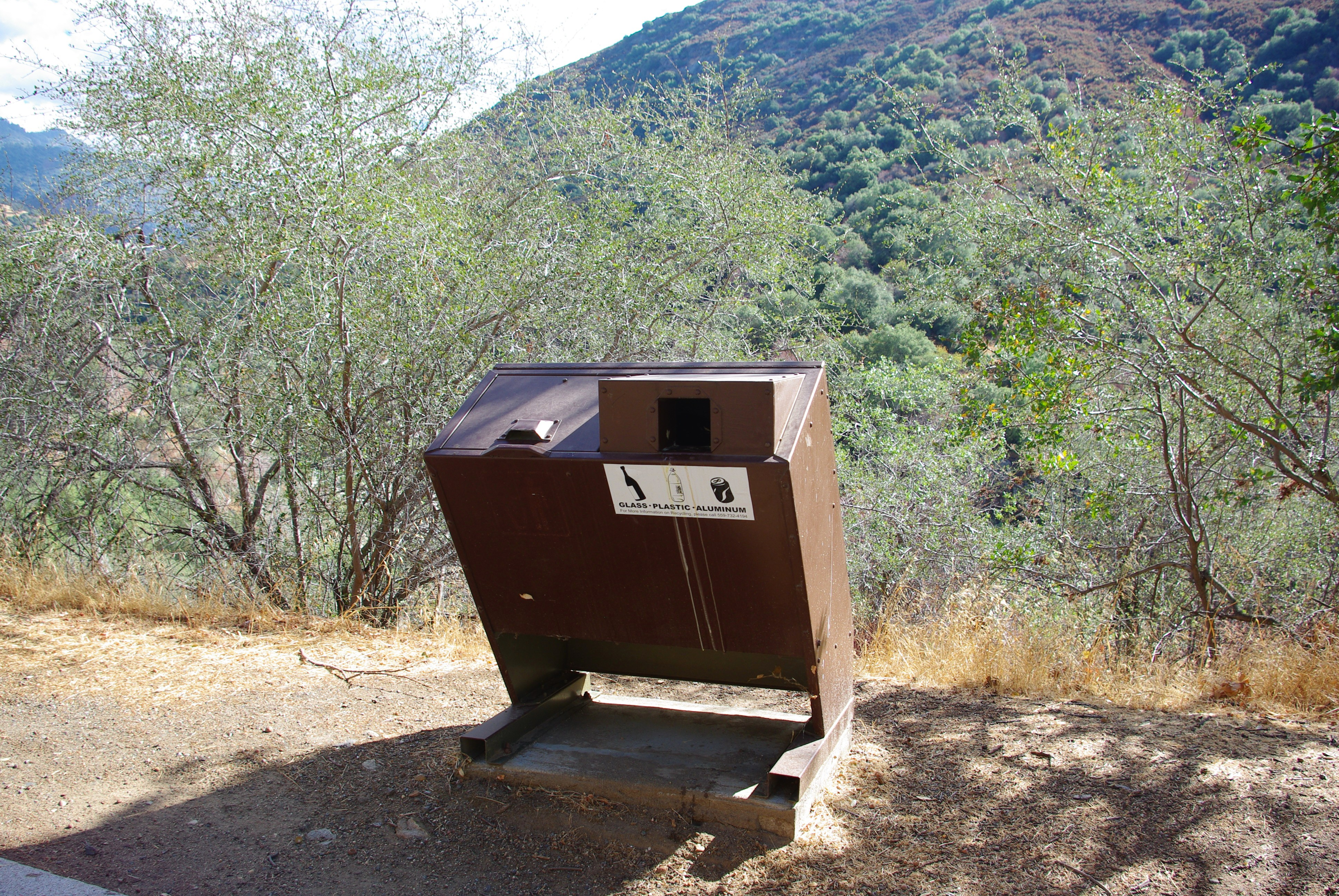 File:Trash container Sequoia National Park 2.JPG - Wikimedia Commons