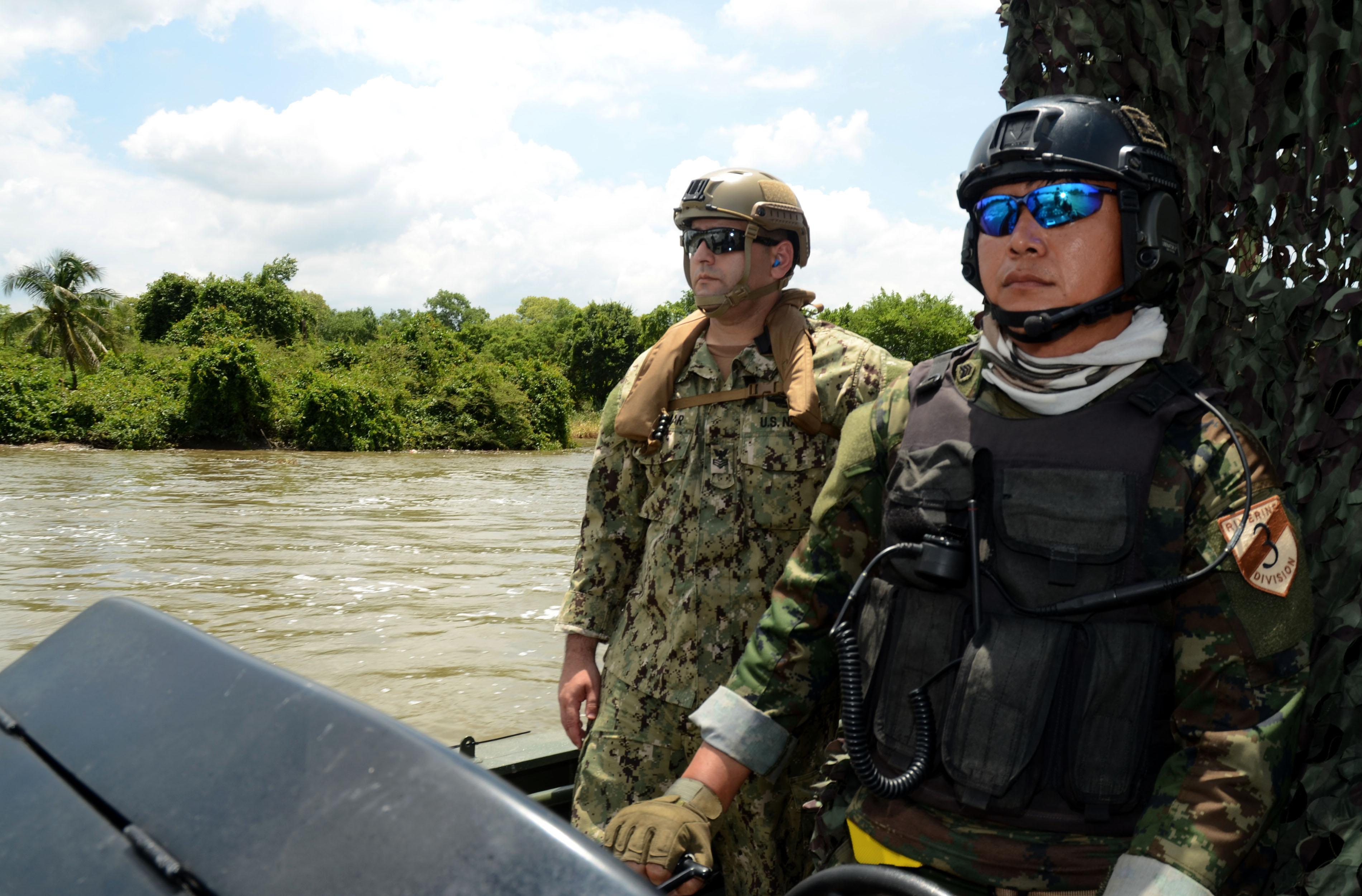 File:U.S. Navy Hospital Corpsman 1st Class Amran Hajiomar, left ...
