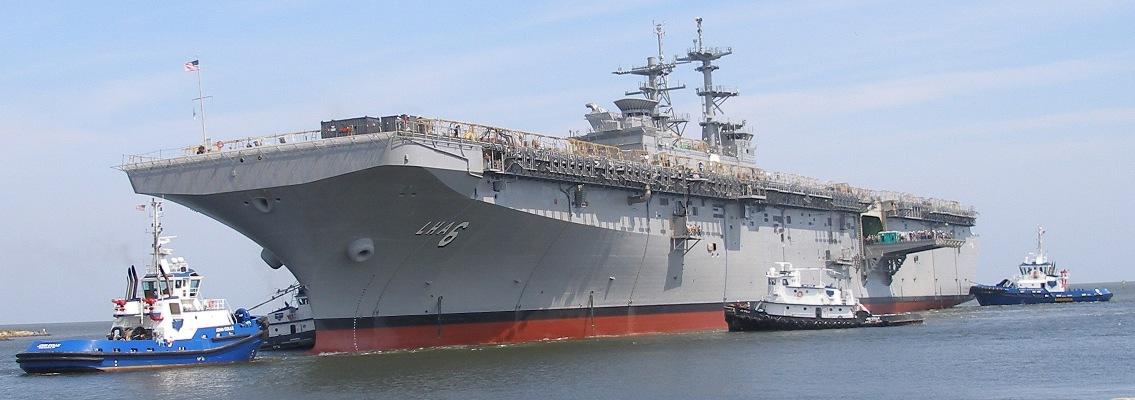 Resultado de imagen de gran buque anfibio del tipo LHD