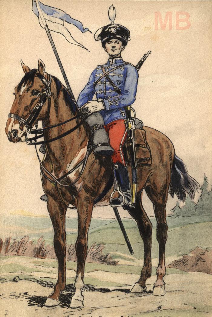 Список по старшинству офицеров 7-го гусарского Белорусского полка